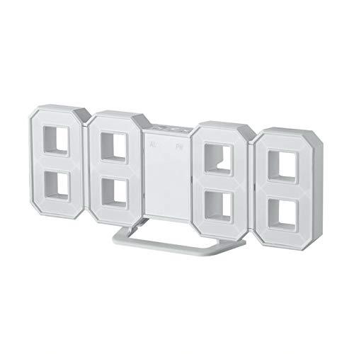 Lynn025Keats 8 a Forma di Grande e Moderno Design Digital LED Display a Parete Desktop Orologi da Tavolo