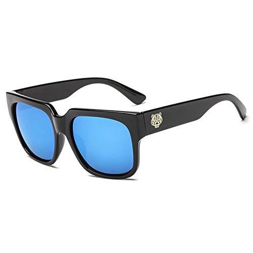 BCD Damen-Sonnenbrille Matte Retro-UV-Schutz Wind HD Anti-Glare Farbe Harz Linsen-Linsen-Sonnenbrille uv400 Männer,02