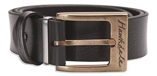 Hawkdale - Ceinture pour homme - cuir pleine fleur - coffret cadeau - noir/marron # HD 819-400