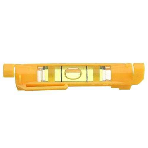 Double Line Wasserwaage, Mini gelb zum Aufhängen Spirit Level Gradienter Level Bubble -