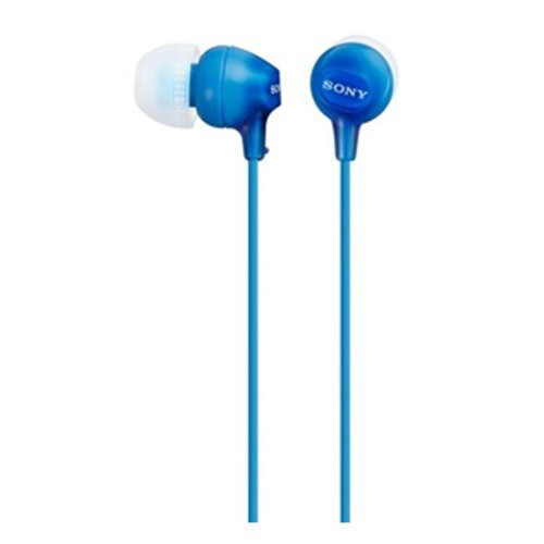 Sony MDR-EX15LP In-Ear Headphones (Blue)  available at amazon for Rs.590