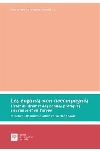 Les enfants non accompagnés : L'état du droit et des bonnes pratiques en France et en Europe par Collectif