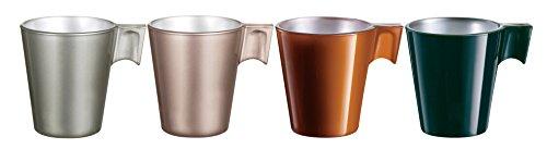 Luminarc Set de 4 Tasses Expresso 8 cl
