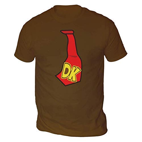 This Way Up DK Tie Mens T-Shirt, Chocolate
