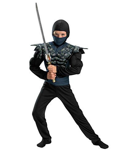 Horror-Shop Ninja Kostüm für Kinder (Kinder Spion-anzug Für)