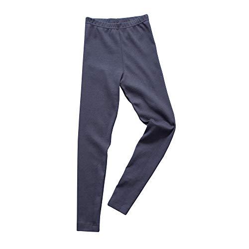 HERMKO 2720 Kinder Legging Unisex aus 100% Bio-Baumwolle für Mädchen und Knaben, Farbe:Marine, Größe:164