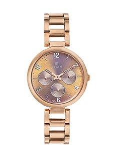 31iXLEhsQAL - Titan 2480wm01 Women Round watch