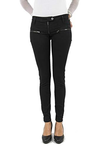 Please Damen Jeanshose Gr. Medium, Schwarz