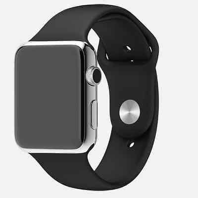 APPLE WATCH 38MM SPORT BAND BLACK STAINLESS STEEL