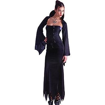 Carnival Toys Costume donna Halloween Vampira strega vampiressa ... e3107db65657