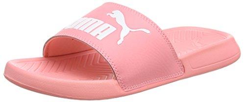Puma Unisex-Erwachsene Popcat Hausschuh, Pink (Soft Fluo Peach White), 39 EU