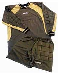 Pantalon avec court maillot de gardien de but jaune taille m