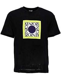 fb2b8569298 Kenzo Homme F955TS0434CG99 Noir Coton T-Shirt