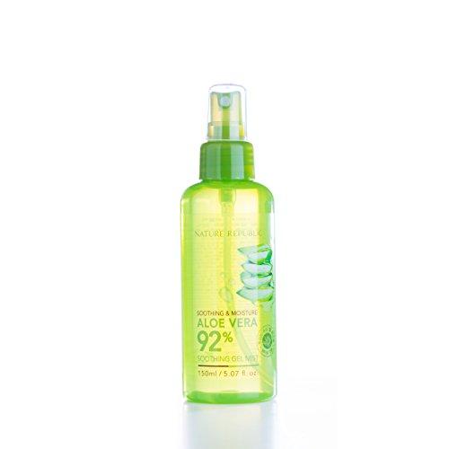 Nature Republic - Aloe Vera 92% - Soothing Gel Erfrischungsspray / Gesichtsspray - Hydrating Facial Mist