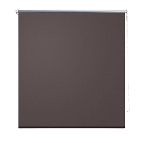 FZYHFA–Estor Opaco Enrollable (poliéster 100% 160x 230cm (L x H) marrón–Estor cámara