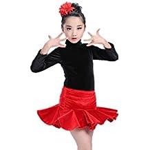MATISSA Trajes de Baile de Dos Piezas para niños Vestidos de Ballet Faldas  Ropa de Baile 9e437bc430a2