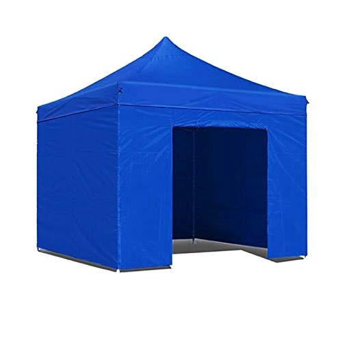 Boudech tenda/gazebo per giardino 3x3 impermeabile blu pieghevole per fiere *3x3blu x giard.*