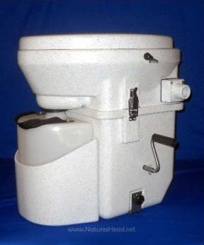 Nature's Head Dry Composting Toilet / Standard Crank Handle by Nature's Head