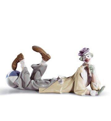 Lladro 1004618 Clown Womens Elegant Handmade Porcelain Figure Figurine Gift Idea