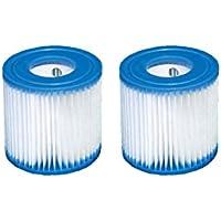2x cartucho de filtros tipo H (29007) de Intex para filtros de bombas 28601, 28602