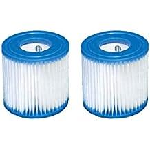 2 x cartucho de filtros tipo H (29007) de Intex para filtros de bombas