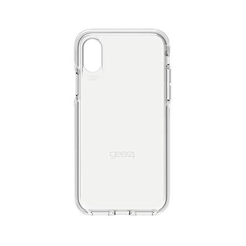 gear4 Piccadilly Custodia rigida per iPhone, Trasparente, Bianco