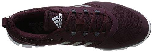 Adidas Performance Speed â??â??Trainer 2 Chaussure d'entraînement, noir / carbone métallisé / Maroon/carbon Metallic/tech Grey Metallic