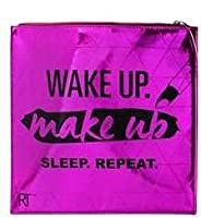 Real Techniques Pink Wakeup Makeup Metallic Makeup Bag