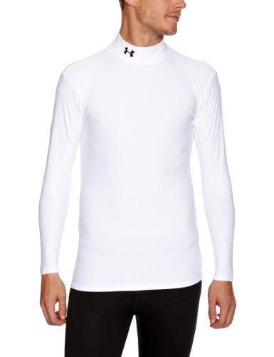 Under Armour Herren Shirt Cg Mock, weiß (wht), XXL (Coldgear Under Mock Armour)