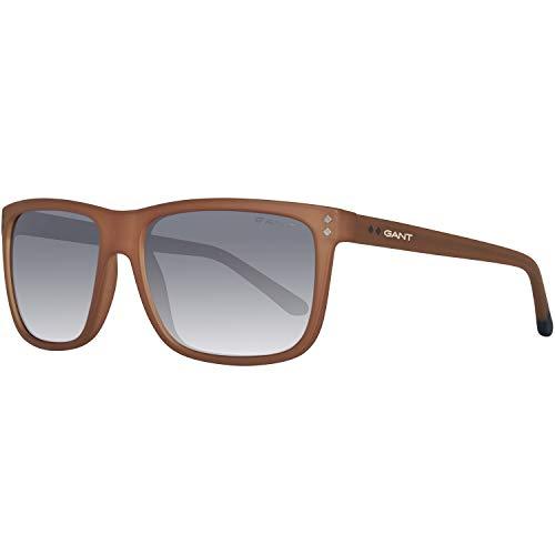 GANT Herren Ga7081 46A 58 Sonnenbrille, Braun,