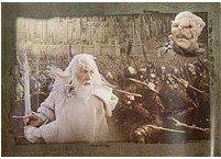 Cards ESDLA Batalla de la Tierra Media: litografía de impresión - Defensa de Tirith Minus