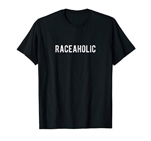 Raceaholic Lustiger Drag Racer Sport-Autofahrer T-Shirt Drifter Shift