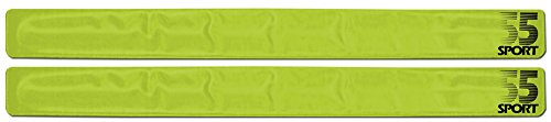 55-sport-highly-reflective-hi-vis-slap-on-wrist-ankle-bands-yellow-2-pack