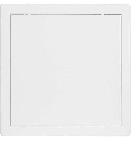 Revisionstür Revisionsklappe weiß 300x300mm hochw ASA Kunststoff Einbaurahmen