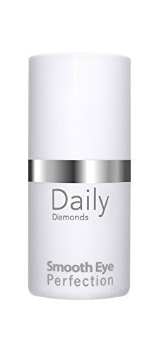 Crème contour des yeux anti-âge de Daily Diamonds – Smooth Eye Perfection 15 ml – Combattre les ridules cernes schlupf Paupières avec cellules souches végétales précieux