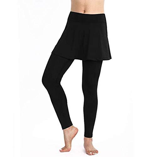 hahashop2 Frauen Print Leggings Yoga Hosen Sport Yoga Workout Gym Fitness Übung Sportliche HosenFrauen einfarbig hip Yoga Hosen Sport Rock Hosen - Klassische Print-rock