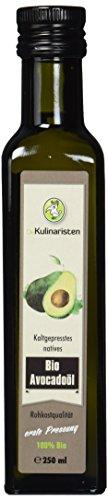Die Kulinaristen Bio-Avocadoöl, 2er Pack (2 x 250ml)