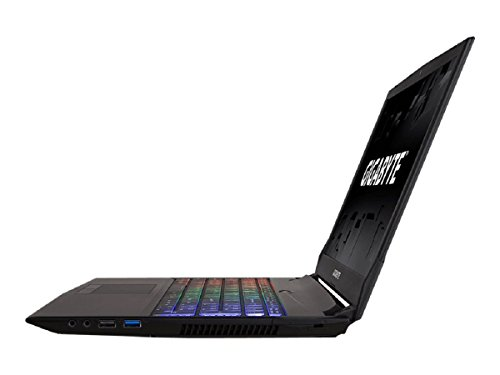 Gigabyte SABRE15G-DE022T 39,62 cm (15,6 Zoll) Gaming Laptop Notebook (Intel central i7-7700HQ, 1000GB Festplatte, 2GB RAM, NVIDIA GeForce GTX 1050, Win 10) mehrfarbig DE