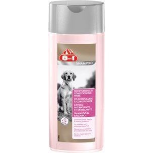 8IN1 Shampoo PFLEGESPÜLUNG und CONDITIONER 250ml für Hunde