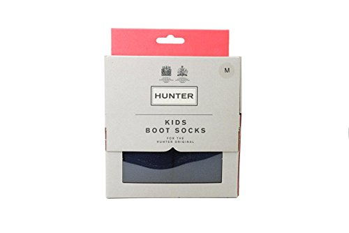 Hunter Socks - Hunter Kids Boot Socks - Navy (Socks Welly Boot)