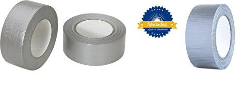 Profi Gewebeband 50 m x 48 mm 'Ultra Strong' Silber (24) - 2