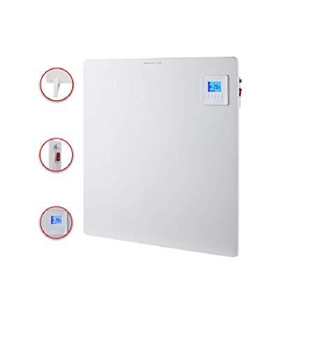 SHE Heizpaneel Infrarot mit Thermostat (550w) - Keramik Infrarotheizung für Bad & Co, Infrarot Paneel als Infrarotheizung mit Thermostat, sparsame Elektro Wandheizung, SHE19PAN550