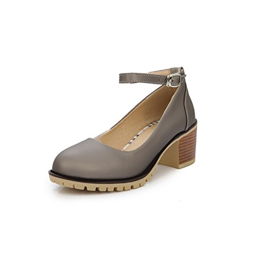 balamasa-womens-buckle-chunky-heels-low-cut-uppers-silver-urethane-pumps-shoes-25-uk
