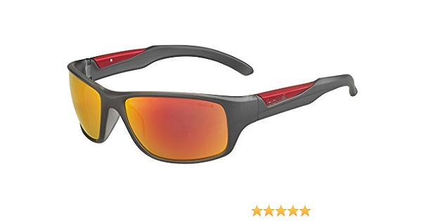 Bollé Erwachsene Vibe Sonnenbrille Matt Anthracite Medium Sport Freizeit