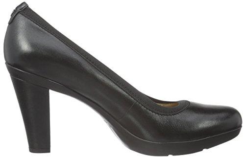 Geox D Inspiration A, Escarpins Femme Schwarz (BLACKC9999)