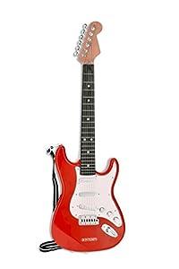 Bontempi Electronic Rock Guitar - Juguetes Musicales (Juguete Musical, Guitarra, 5 año(s), Niño/niña, Negro, Rojo, Blanco, Madera, Italia)