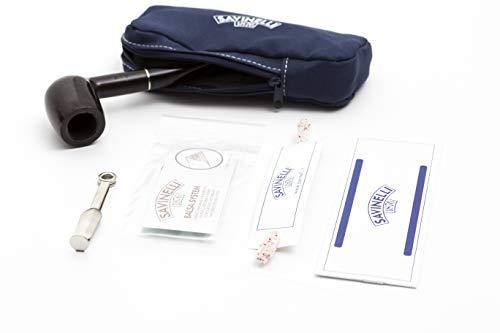 "Savinelli Pipa""BASIC"" - Kit ufficiale completo (BLU) mod 128"