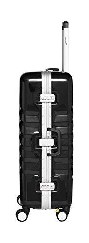 Packenger Skystar Hartschale XL Koffer, Schwarz - 2