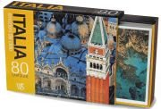 Italia, emozioni dal cielo. 80 cartoline. Ediz. illustrata