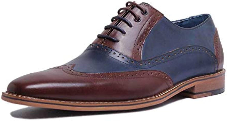 Justin Reece Reece Reece A-Tommy-72-872-ZC-1, Scarpe Stringate Uomo, Marronee (Marronee blu), 40 | Diversi stili e stili  1434f3